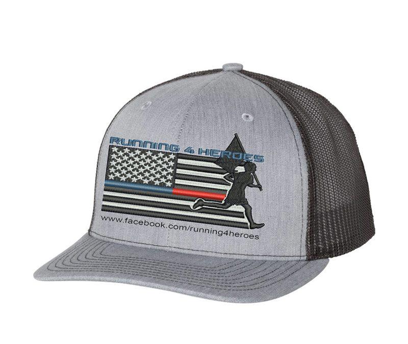 Running 4 Heroes Trucker Caps